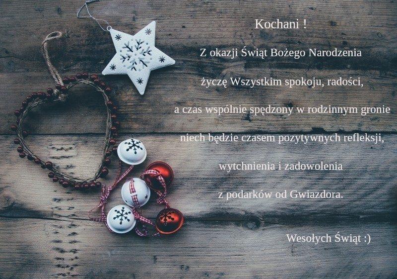 życzenia świąteczne krótkie