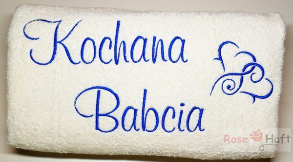 prezent ręcznik dla babci